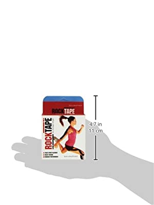 RockTape Kinesiology Tape for Athletes (2-Inch x 16.4-Feet)