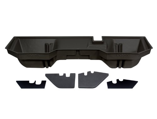 DU-HA Under Seat Storage Fits 02-17 Dodge/Ram 1500 Quad & Crew Cab and 03-17 Dodge/Ram 2500 & 3500 Quad & Crew Cab, Dk Gray, Part #30017