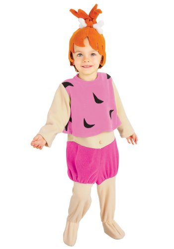 Pebbles Costume Halloween (Rubie's Costume Pebbles Flintstone Toddler Costume)