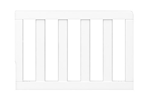 Storkcraft Toddler Guardrail White Safety Guard Rail For Convertible Crib Toddler Bed