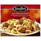 Nestle Stouffers Entree Swedish Meatball, 11.5 Ounce -- 12 per case.