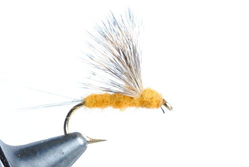 - Blue Wing Olive Sulfur Comparadun Dry Fly, 6 Pack (Dark, 18)