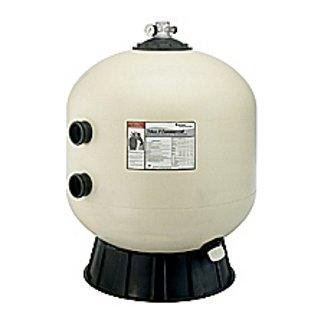Pentair Side Mount - Pentair 140316 Triton C High Capacity Fiberglass Side Mount Sand Pool Filter, 7.06 Square Feet, 141 GPM (Residential), without Valve or Unions