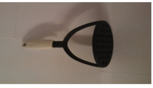 Ybm Home Potato Masher 10 Inch Nylon with White Handle