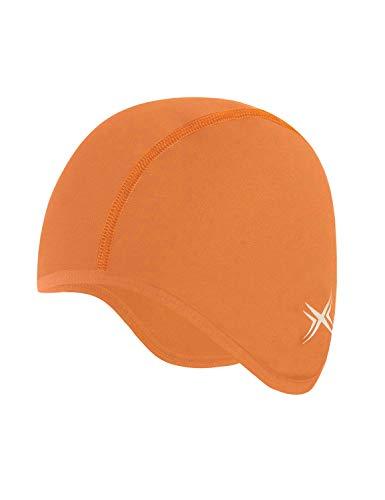 BALEAF Skull Cap Cycling Running Beanie Thermal Helmet Liner Orange
