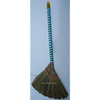 Amazon Com All Natural Vietnamese Straw Brooms 37 Inch