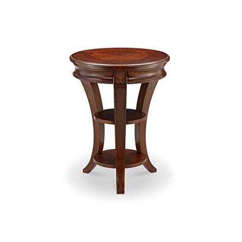 """Magnussen T4115-35 Winslet Round Accent Table, 26"""" x 20"""" x 20"""""""