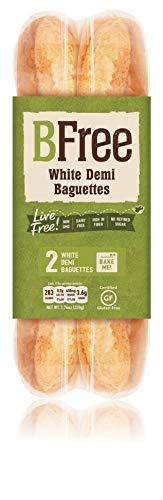 BFree Foods Bake at Home Gluten Free Baguettes -bread – Par Baked Baguettes - 2 Per Pack, 7.76 Ounce