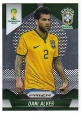 Panini Prizm World Cup Brazil 2014 Base Card # 105 Dani Alves Brazil