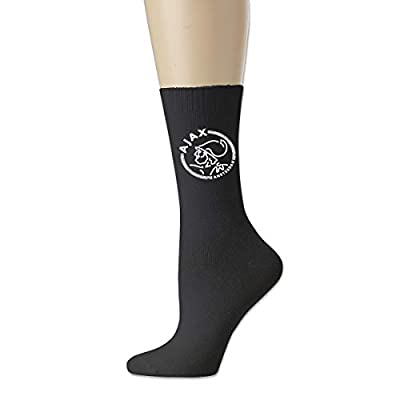 Huaichuanhua Long Socks AFC Ajax Amsterdam Club Socce Funny Black