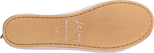 FS Rose Nappa Ballet Sloop Gold Flat NY Sole Silk French Women's 6qw15xUnP