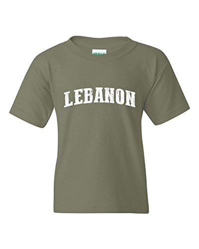Lebanon T-Shirt Lebanon Lebanon Unisex Youth Kids T-Shirt - List Lebanon Clothing