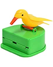 Household Toothpick Dispenser Gag Toothpick Holder Automatic Bird Toothpick Storage Box
