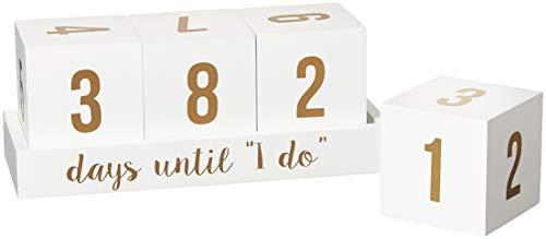 8 Oak Lane EC098DAY Wood Countdown Calendar-Days Until I Do 3