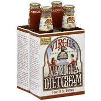 Virgil's Diet Cream Soda ( 6X4/12 Oz) by Virgils Rootbeer