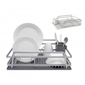 ta da TDDR100DSLG Dish Rack, Light Grey