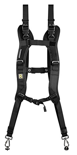BlackRapid RSD-2BB Double Slim (DR-2 Double Strap) (Black) by BlackRapid