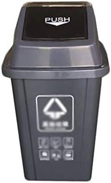 滑らかな表面 Ndoorが蓋付きの缶をゴミ箱、家庭ソートのごみ箱ホテルモールトイレ公園屋外のゴミ箱プラスチック製の収納ボックスの大 リサイクル可能なデザイン (Color : Green, Size : 87*35*36CM)