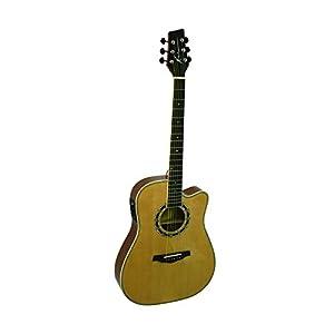 kona guitars ka400n thin body artist series acoustic electric guitar with fishman. Black Bedroom Furniture Sets. Home Design Ideas