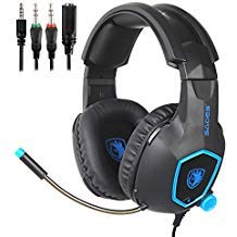 , Gaming Headsets Headphones For New Xbox one PS4 PC Laptop