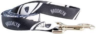 "HUNTER Brooklyn Nets Pet Lead, 3/4"" Wide Medium"