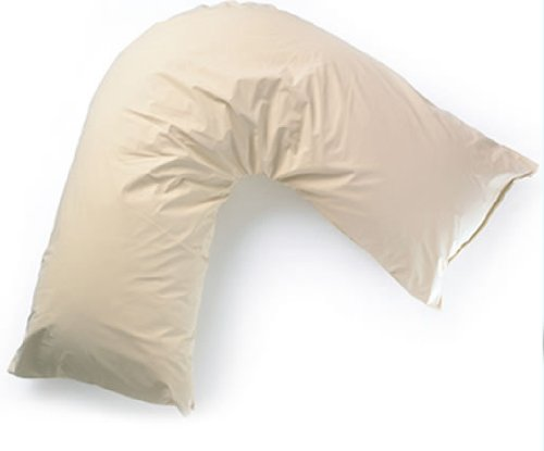 Creating Comfort Waterproof Pillow Protector For V Shaped Pillow, Waterproof Cover In Heavy Duty Soft PVC, COVER ONLY* As Supplied To The NHS