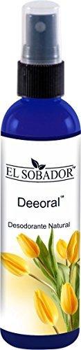 Desodorante natural en Spray – Para hombre, mujer y niños – Reduce el mal olor