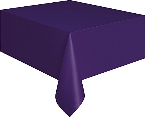 Creative Converting Touch of Color Plastic Table Cover,