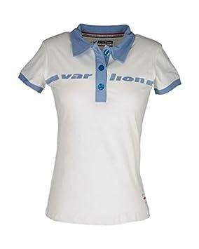 VARLION Polo Original Mujer Blanco: Amazon.es: Deportes y aire libre