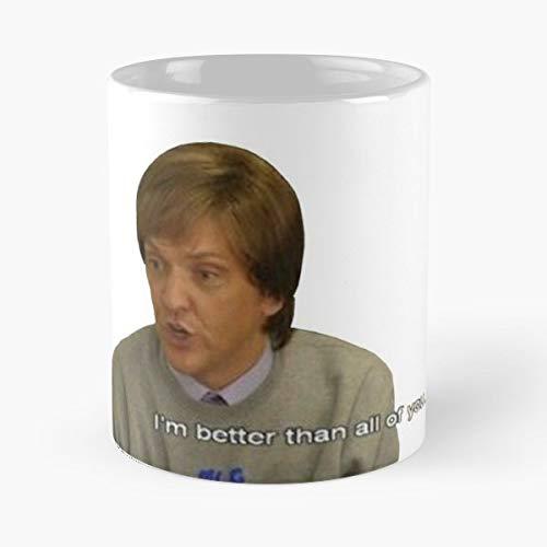 Jamie Jonah From Tonga Mr G Celine The Dog Morning Coffee Mug Ceramic Novelty Holiday