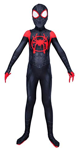 ugoccam Kids Zentai Suit 3D Style Halloween Superhero Bodysuit Costume