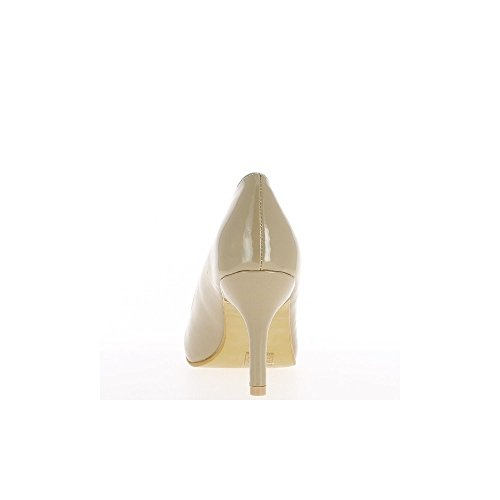 Centímetros Mulher 8 Sapatos Pintados Negra Calcanhar ZF07Pw