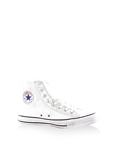 Converse Star Hi, Sneaker Alte Unisex - Adulto Bianco