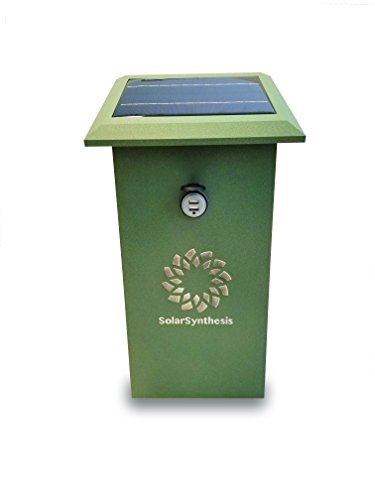 Solar Powered Cell Phone Charging Station - 7