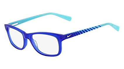fa844e24a51 Amazon.com  Eyeglasses NIKE 5509 450 GAME ROYAL  Sports   Outdoors