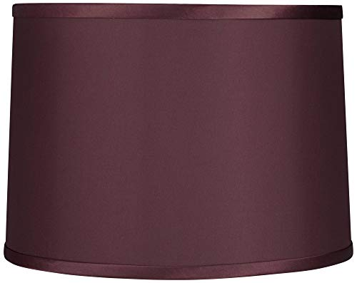 Burgundy Reverse Side Lamp Shade 13x14x10 (Spider) - Brentwood