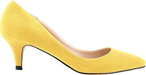 Salabobo - Zapatos de tacón  mujer amarillo