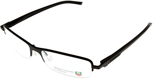 Tag Heuer Eyeglasses Frame Unisex Brown Automatic TH0824 003 Semi- - Uk Glasses Ready Reading