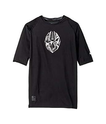 Nike Pro Boys Half-Sleeve Football Compression Shirt