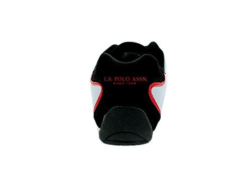 Nous Polo Assn. Chaussure De Sport Moineau Mens / Blk / Red