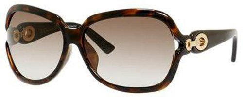 DIOR Sunglasses ISSIMO 2/F/N/S 0EWF Havana Brown Black - Diorissimo Black