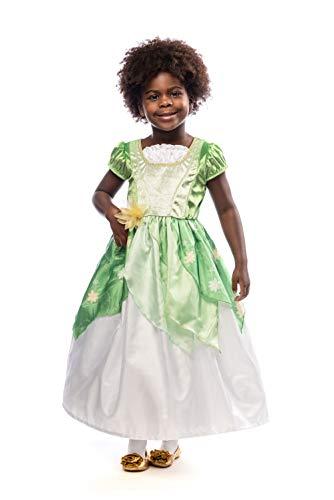 (Little Adventures Classic Lily Pad Princess Dress Up Costume (Medium Age 3-5))