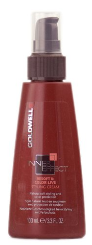 Goldwell Inner Effect Resoft & Color Live Styling Cream 3.3 oz