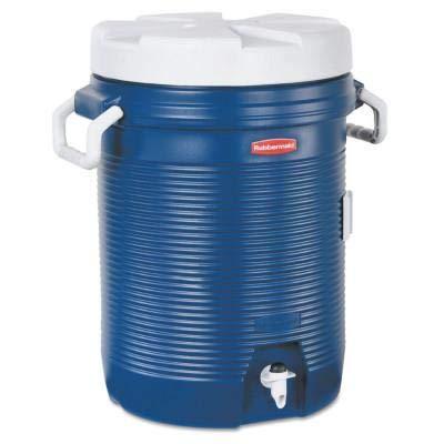Amazon.com: 5 galones Refrigerador de agua, azul de moderno ...