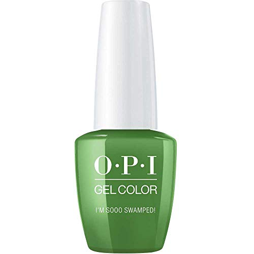 OPI GelColor, I'm Sooo Swamped, 0.5 Fl. Oz. gel nail polish 0.5 Ounce Opi Nail