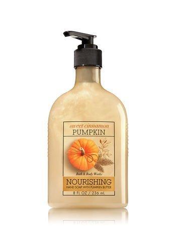 Bath & Body Works Pumpkin Butter Nourishing Hand Soap Sweet Cinnamon Pumpkin
