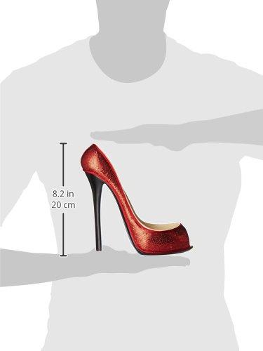 Red Sequins Happy Hour 21221 Wild Eye Designs High Heel Bottle Holder