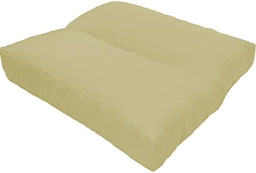 Cojines de asiento LoungeWave para jardín - Cojines outdoor repelentes al agua y acolchados para bancos, sofá en palets u otros asientos de jardín, ...