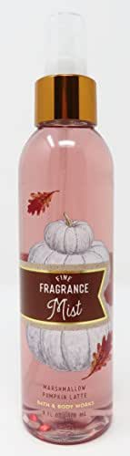 Bath & Body Works Marshmallow Pumpkin Latte 6 Oz Fine Fragrance Mist Spray