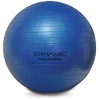 Dynamic T5000 Gymball Pilates Topu 20 cm Unisex, Mavi, Tek Beden